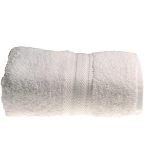 Serviette de toilette 50 x 90 cm couleur blanc