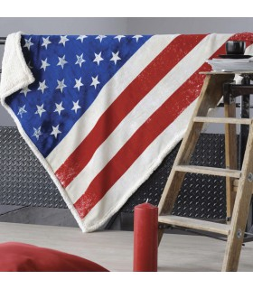 Plaid drapeau Etat Unis