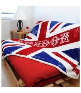 Plaid drapeau britannique
