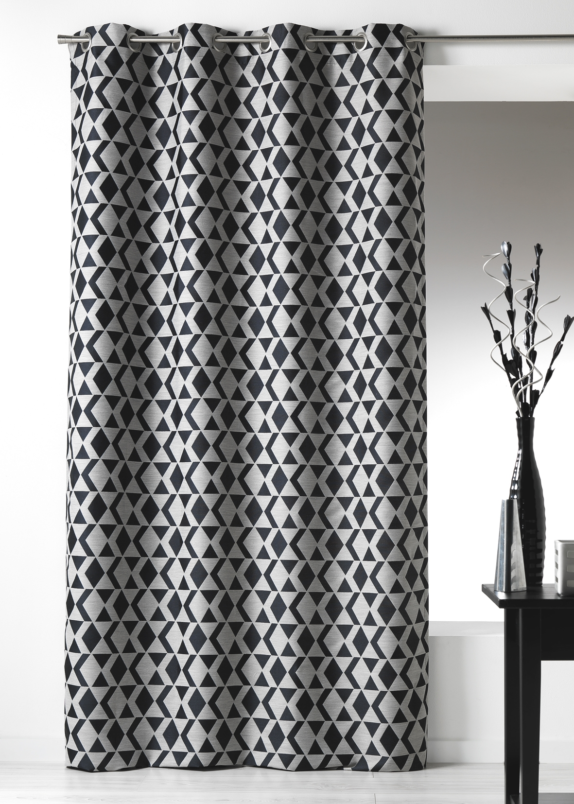 rideaux vintage. Black Bedroom Furniture Sets. Home Design Ideas