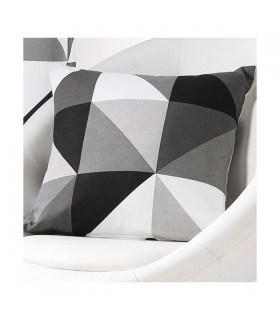 Coussin contemporain géométrique