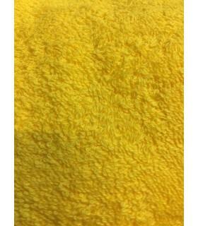 Drap de douche70x140 cm couleur jaune moutarde