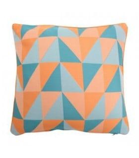 Coussin vintage motif géométrique