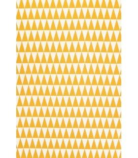 Tissu Jacquard motif triangle