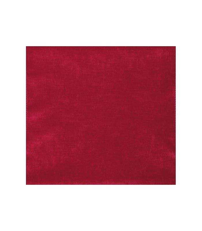 tissu velours uni rouge 14 40. Black Bedroom Furniture Sets. Home Design Ideas
