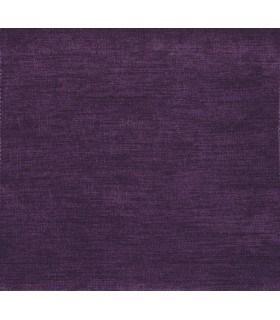 Tissu velours uni prune