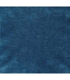 Tissu velours uni bleu