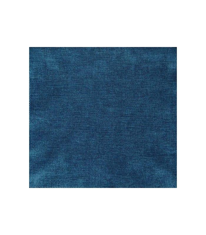 tissu velours uni bleu 14 40. Black Bedroom Furniture Sets. Home Design Ideas