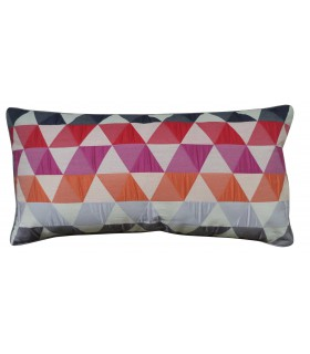 Coussin triangle vintage rectangulaire