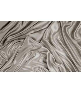 Tissu satin blanc grande largeur