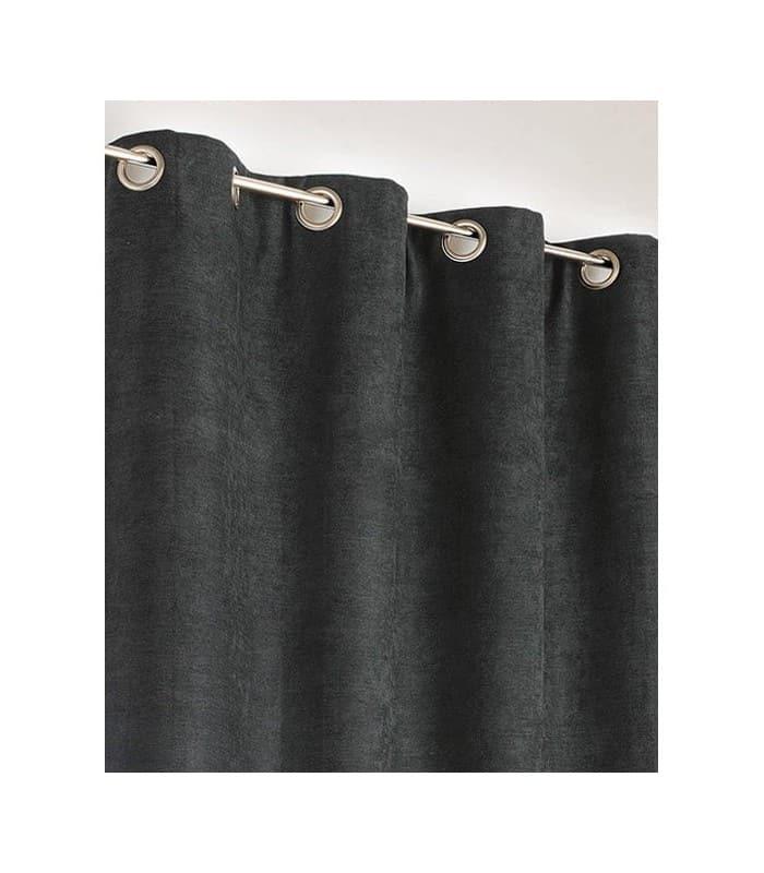 Rideau noir Uni Phonique, Isolant, Thermique et Occultant