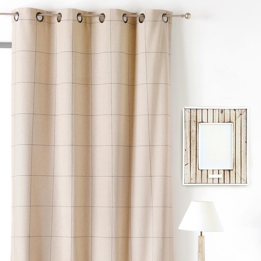 rideaux carreaux rouge et blanc beautiful comptoir de famille rideau carreaux rouge et blanc. Black Bedroom Furniture Sets. Home Design Ideas