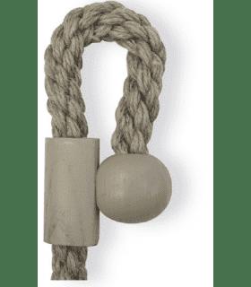 Embrasse aimantée style corde lin