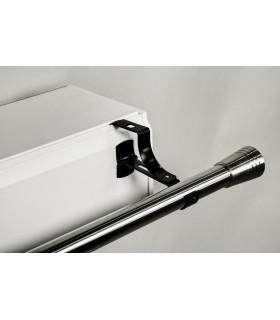 Support de barre à rideau diametre 28 pour coffre sans perçage