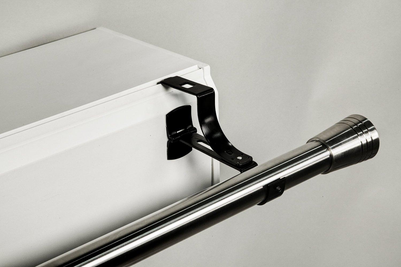 Tringle Rideau Sans Percer support de tringle ronde sans perçage pour coffre de volet