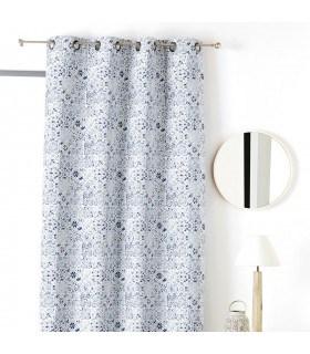 Rideau motif azulejos