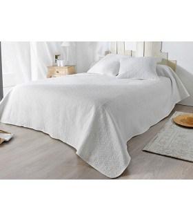 Couvre lit piqué naturel