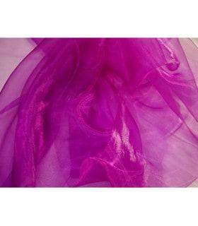 Tissu organza prune