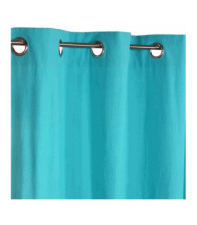 Rideau turquoise 1er prix