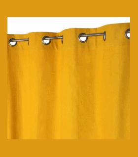 Rideau jaune 1er prix