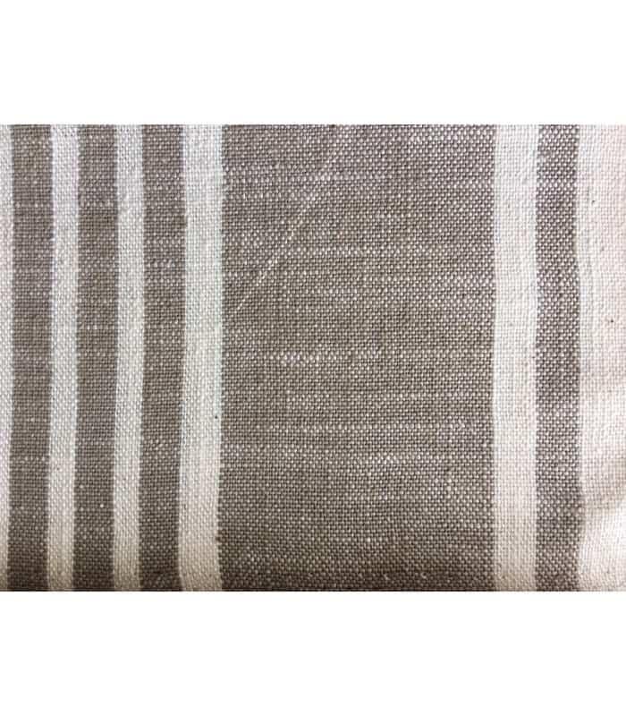 Tissu rayé toile à matelas