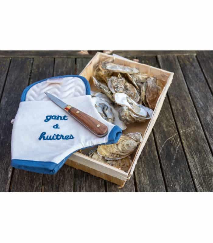 Coffret Gant à huître + couteau Lancette