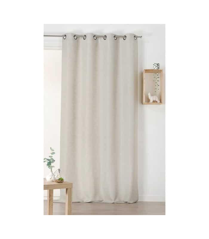 rideau d polluant gris cologique. Black Bedroom Furniture Sets. Home Design Ideas