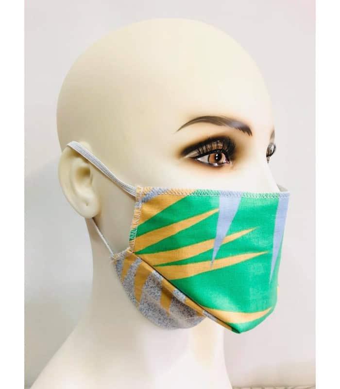 Masque protection tissu jungle (lot de 4) élastique