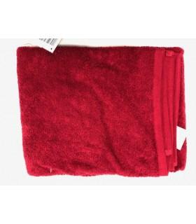 Drap de douche 70x130 cm couleur rouge