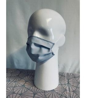 masque gris adulte tissu catégorie 1