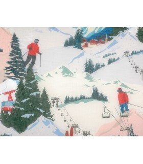 tissu montagne ski