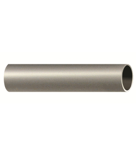 Tube fer forgé nickel mat