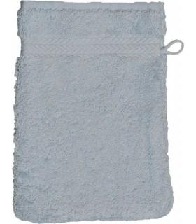 Gant de toilette 16x21 cm couleur Bleu ciel