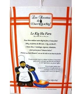 """Torchon recette """"le Kig a Farz"""" de Mam Goudig"""